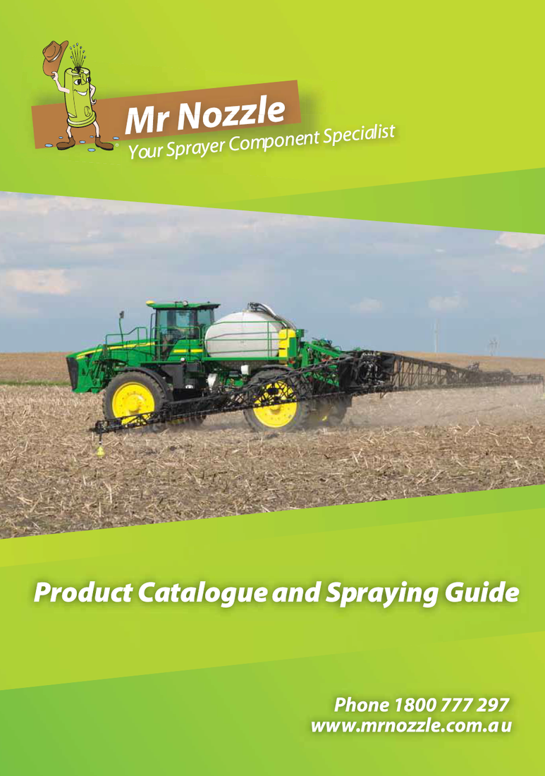 Mr Nozzle Catalogue